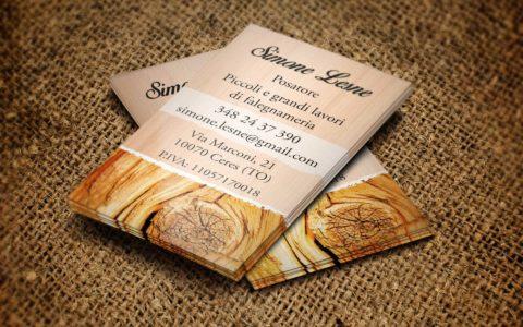 Biglietto da visita Simone